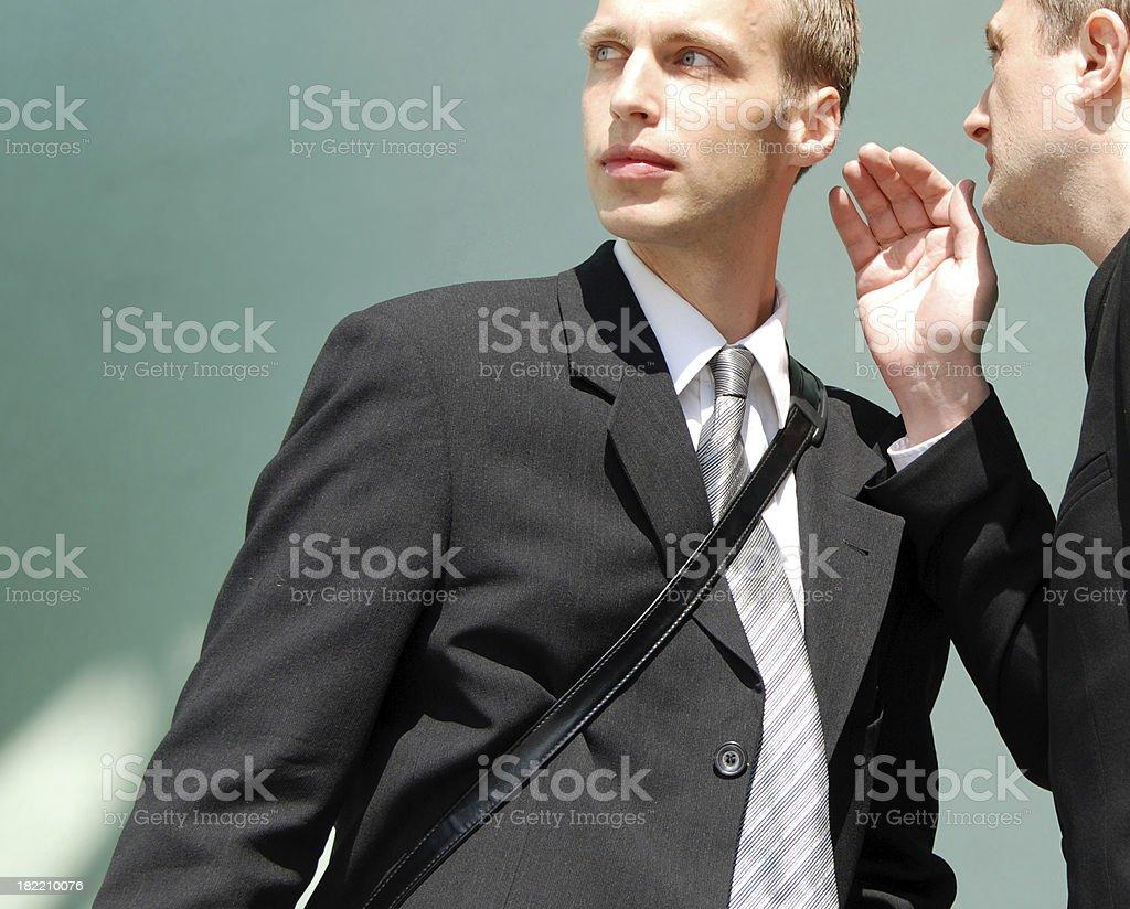 Conspiracy royalty-free stock photo