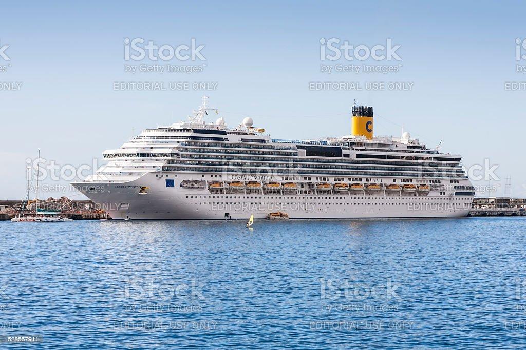 Consta Concordia in Funchal stock photo