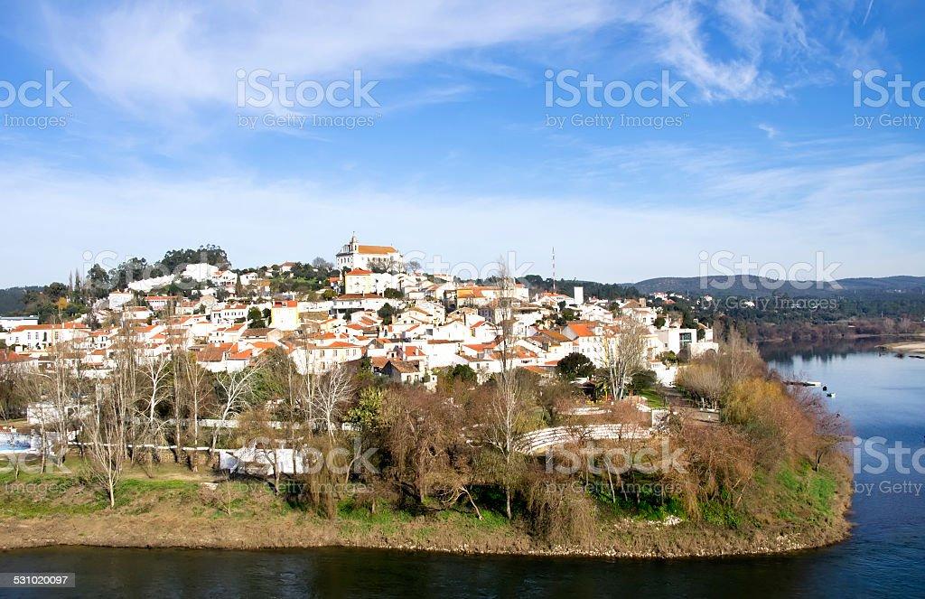 Constancia village, Santarem,Portugal stock photo