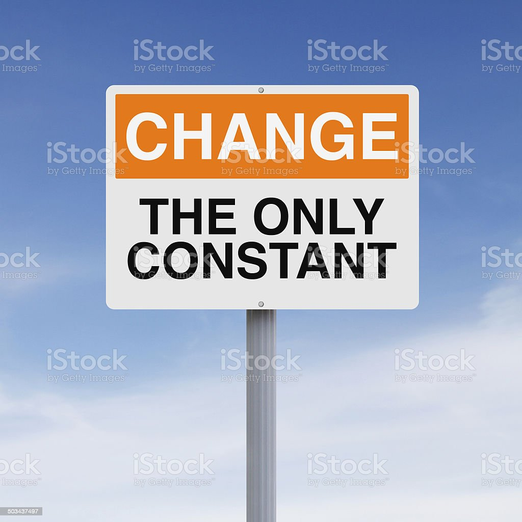 Constant Change stock photo