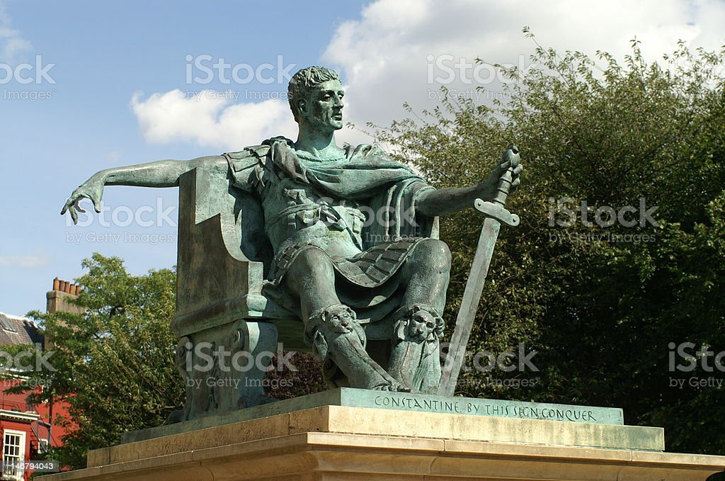 Constantine at York royalty-free stock photo