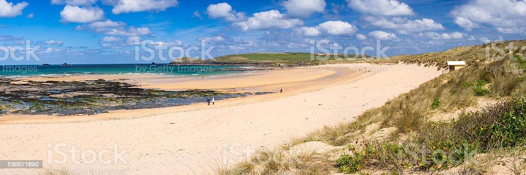 Constantine Bay Cornwall England stock photo