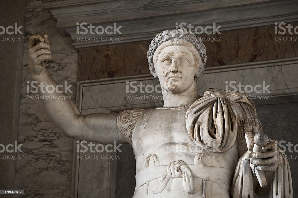 Constantine the Great 03 stock photo