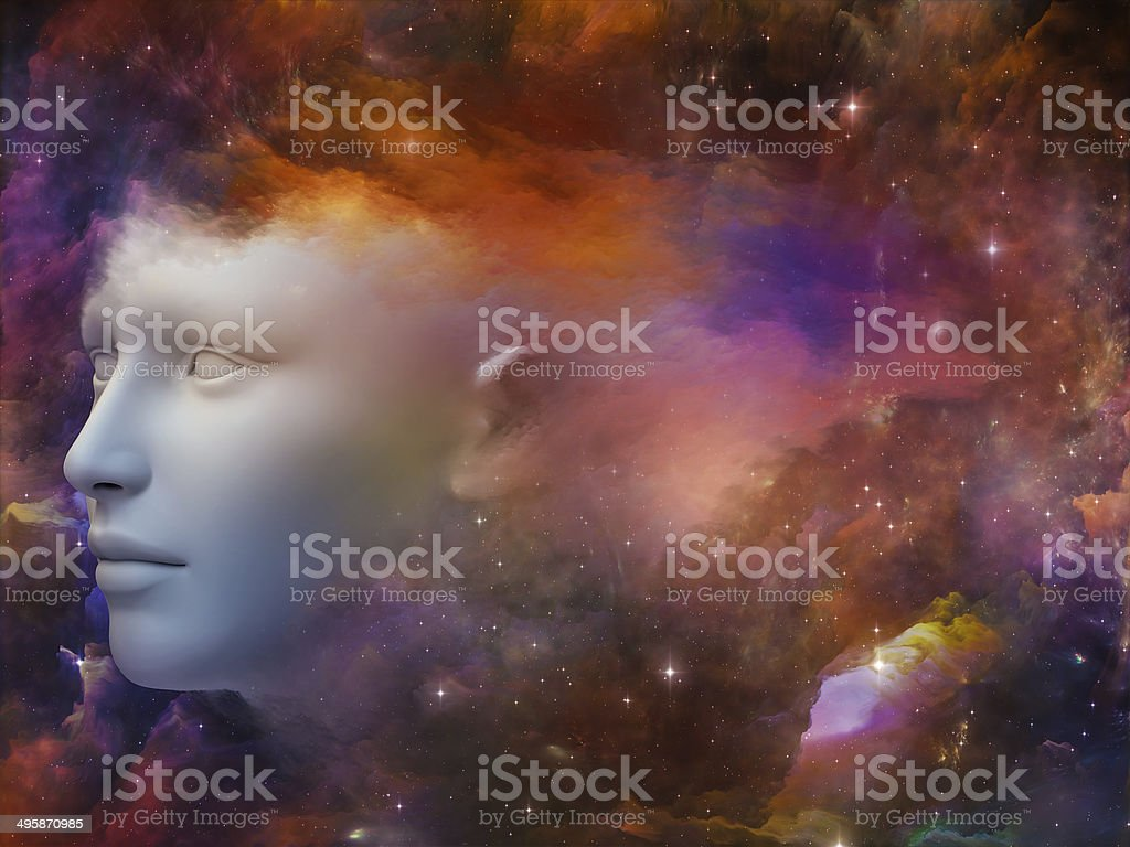 Constellation of You stock photo
