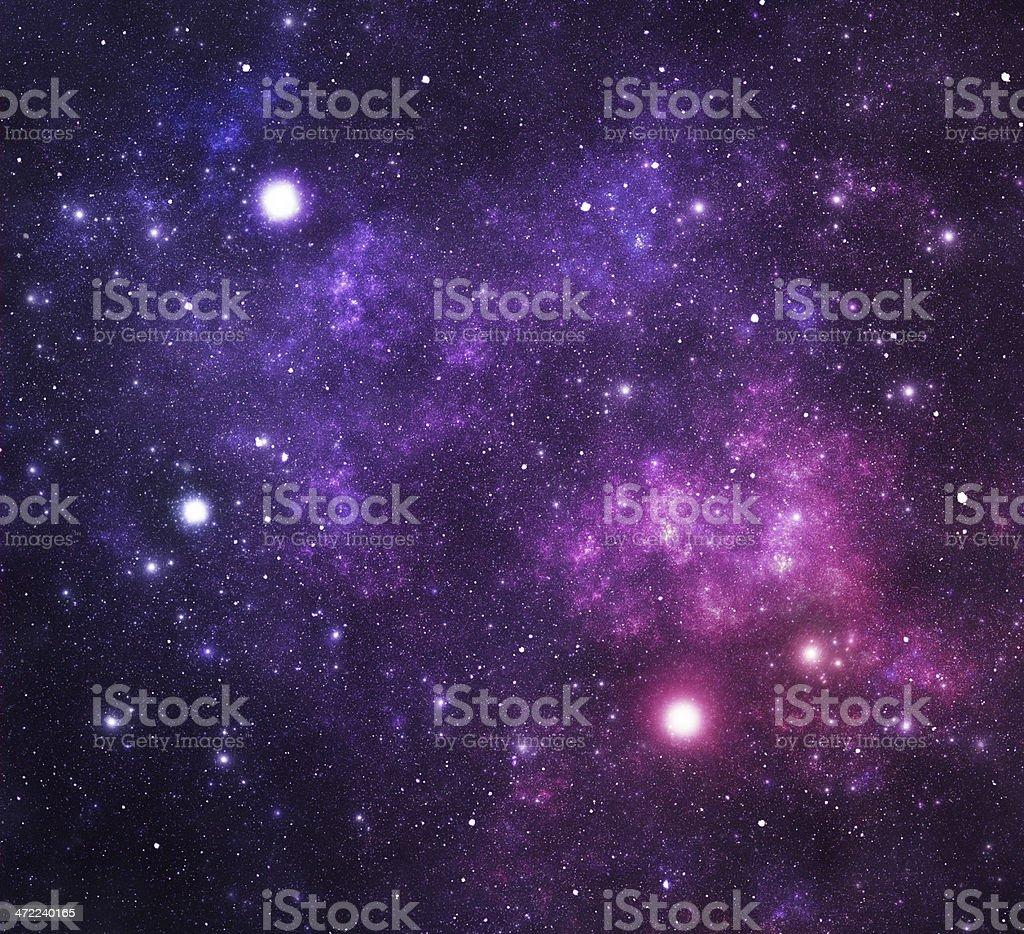 Constellations. Equuleus (Equ) stock photo