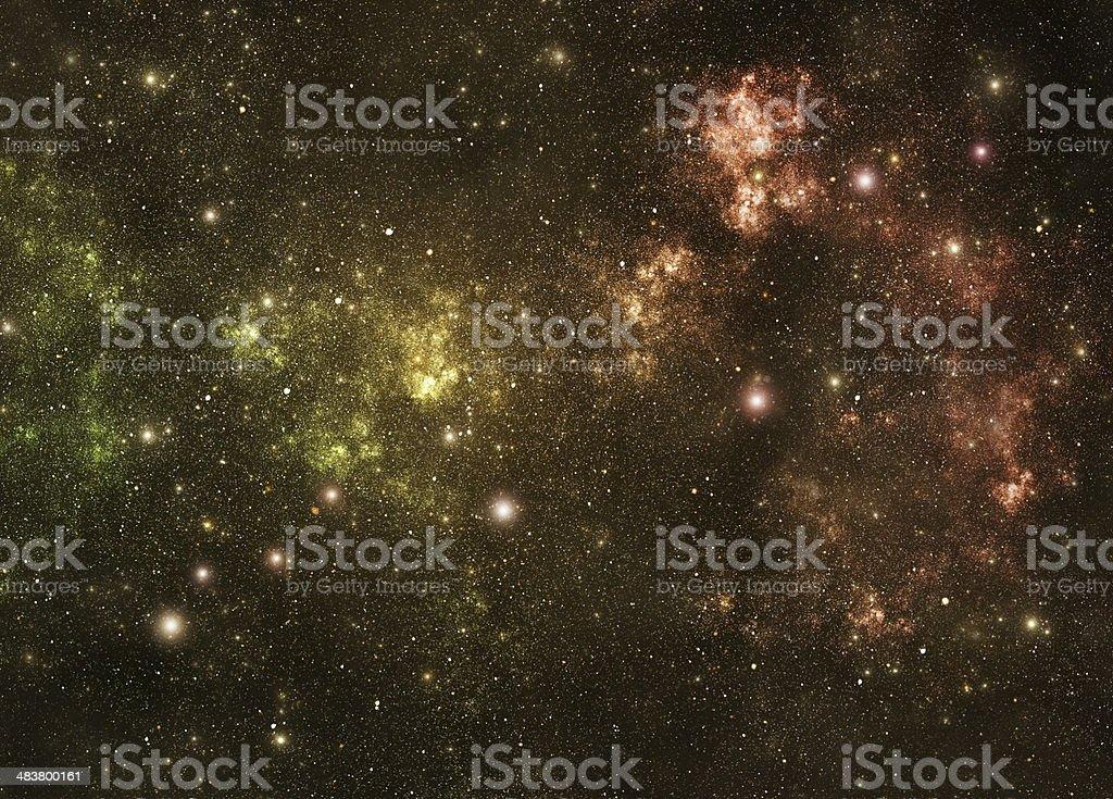 Constellations. Lynx (Lyn) royalty-free stock photo