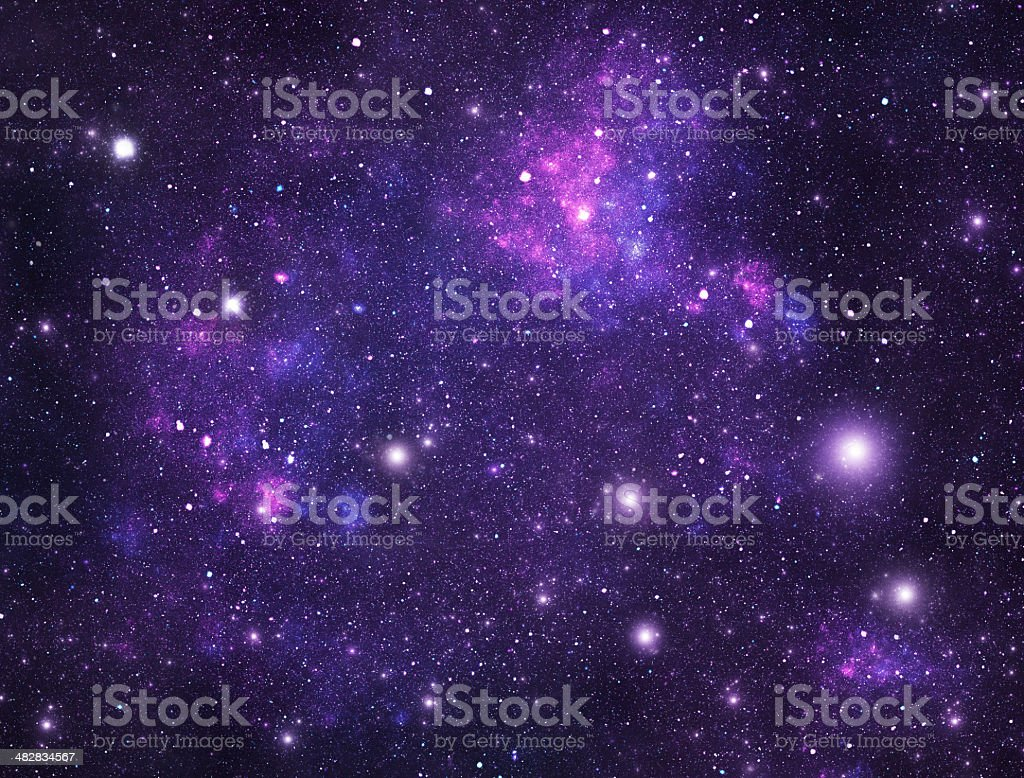 Constellations. Ursa Minor (UMi) stock photo