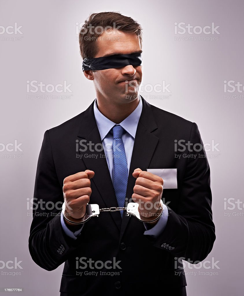 Constraints are holding me back stock photo