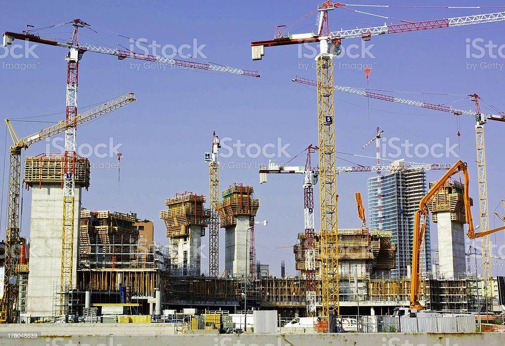 constructing royalty-free stock photo
