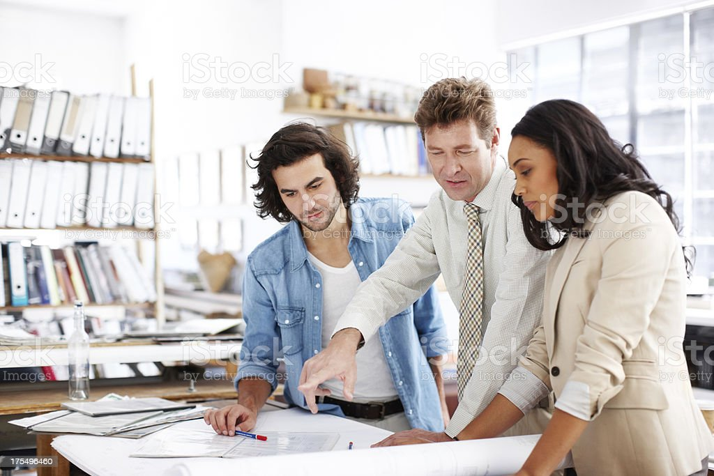 Constructing with passion and creativity royalty-free stock photo