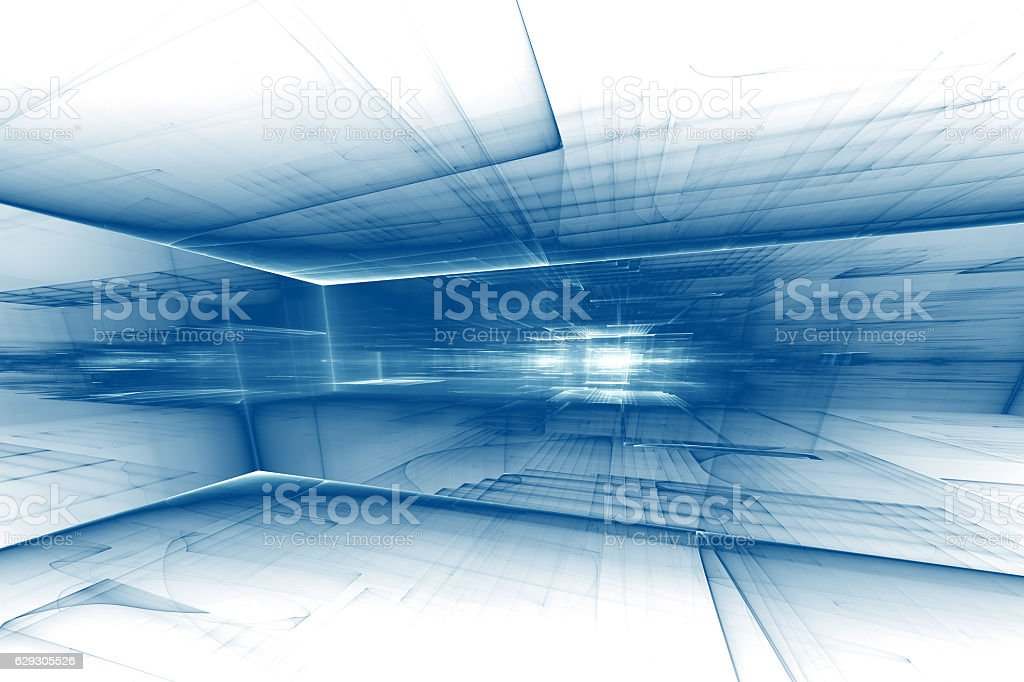 construction, abstract futuristic background stock photo