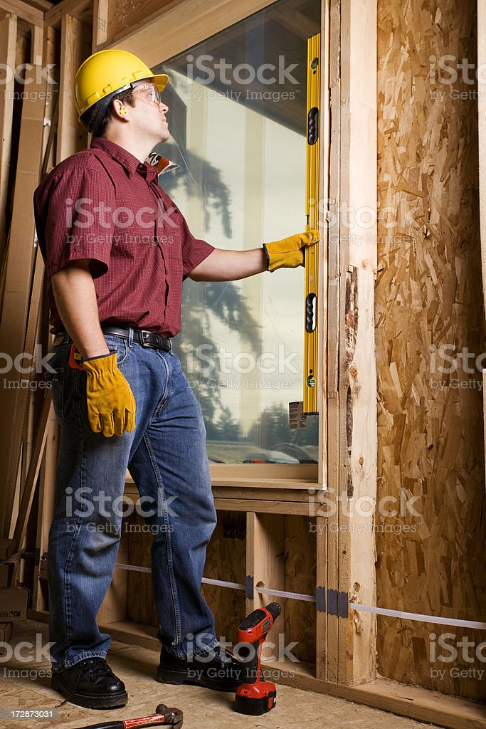 construction and safety stock photo