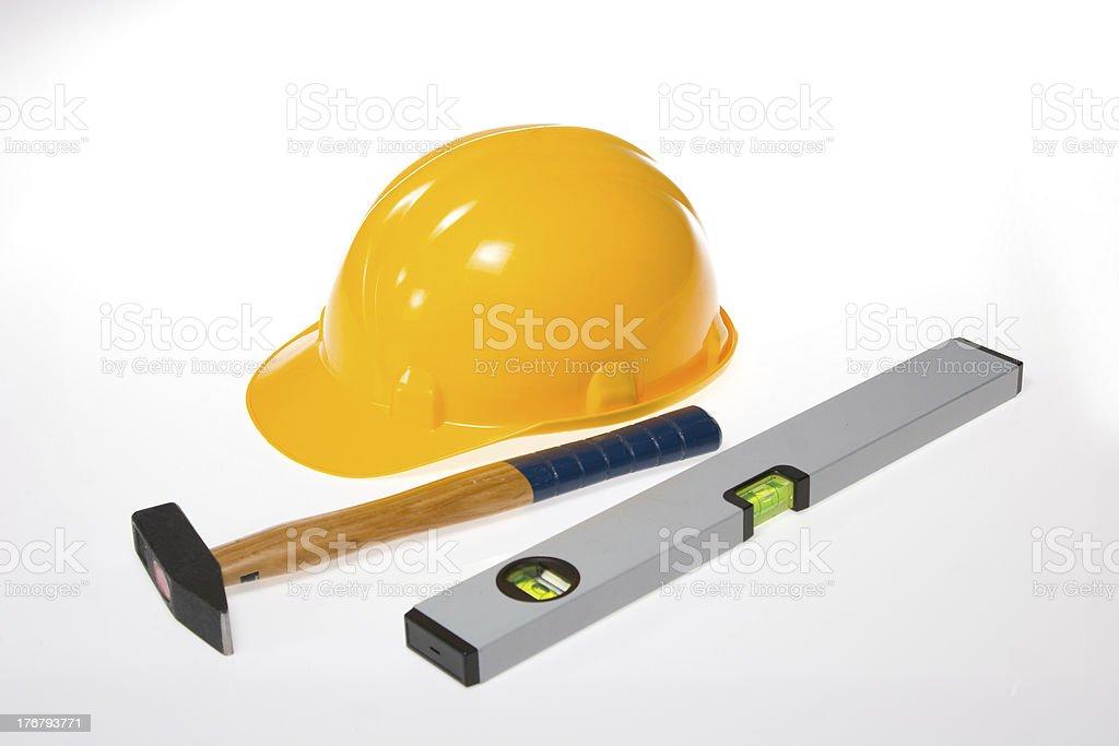 construction area utilities stock photo
