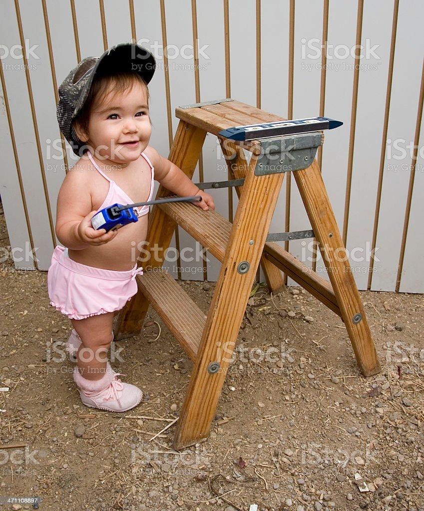 construction baby royalty-free stock photo