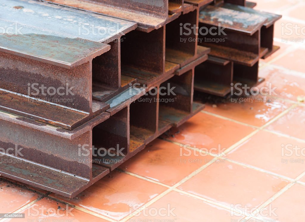 construction beam stock photo