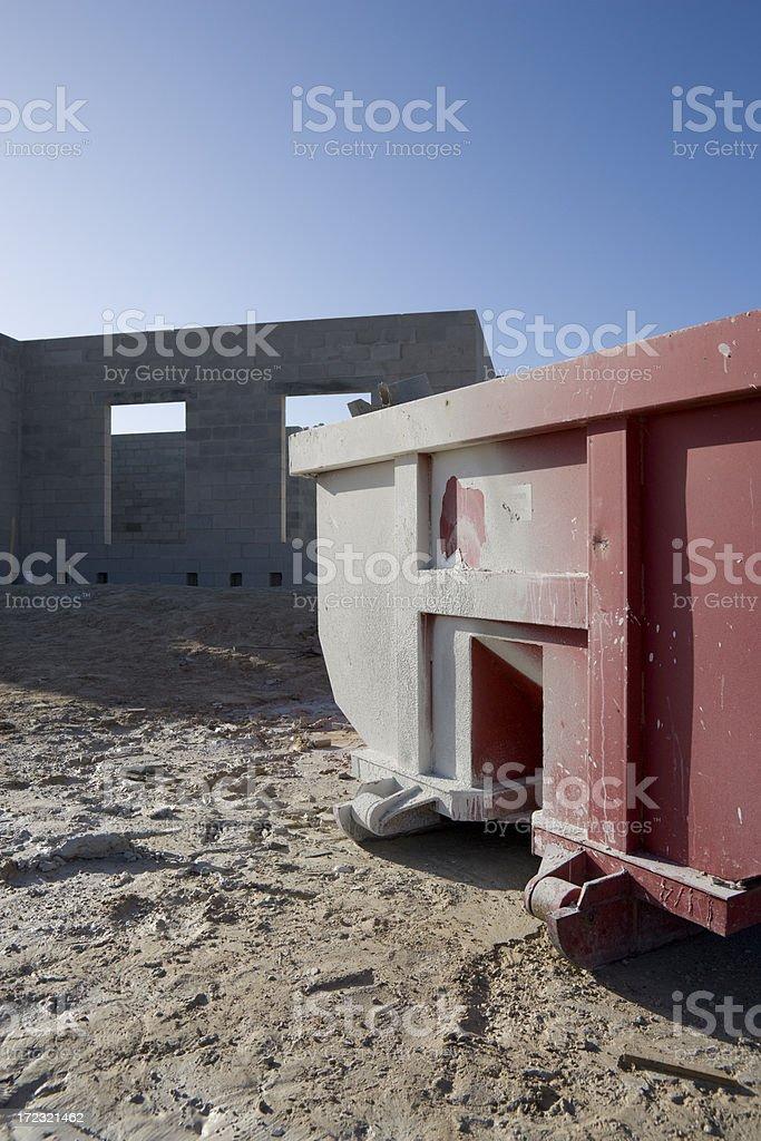 Construction Bin royalty-free stock photo