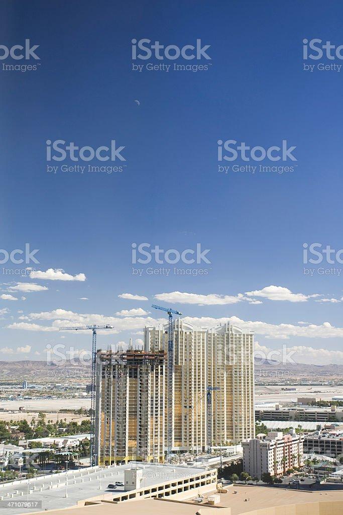 Construction boom in Las Vegas. royalty-free stock photo