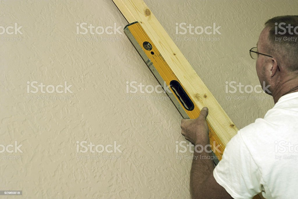 Construction - Carpenter 2 royalty-free stock photo