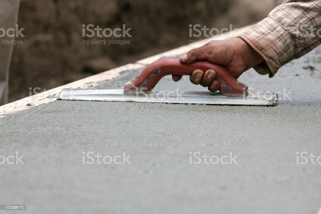 Construction - Cement stock photo