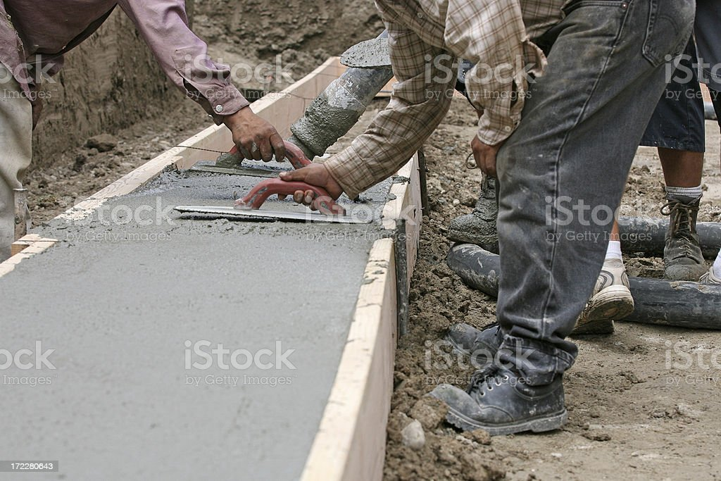 Construction Cement royalty-free stock photo