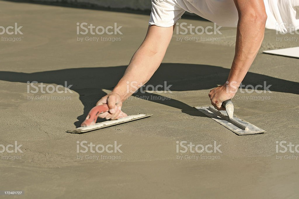 Construction - Cement royalty-free stock photo