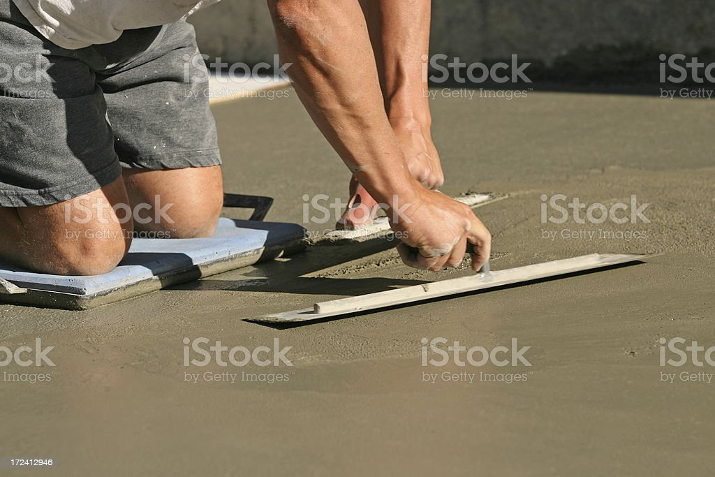 Construction - Cement stock photo