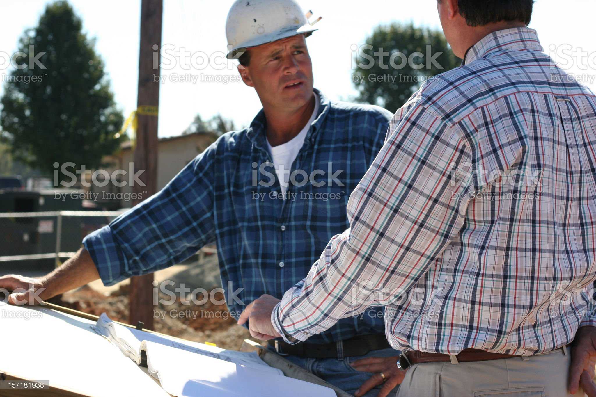 Construction Communication royalty-free stock photo