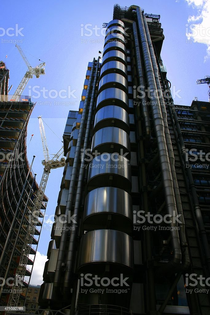 Construction & completion stock photo