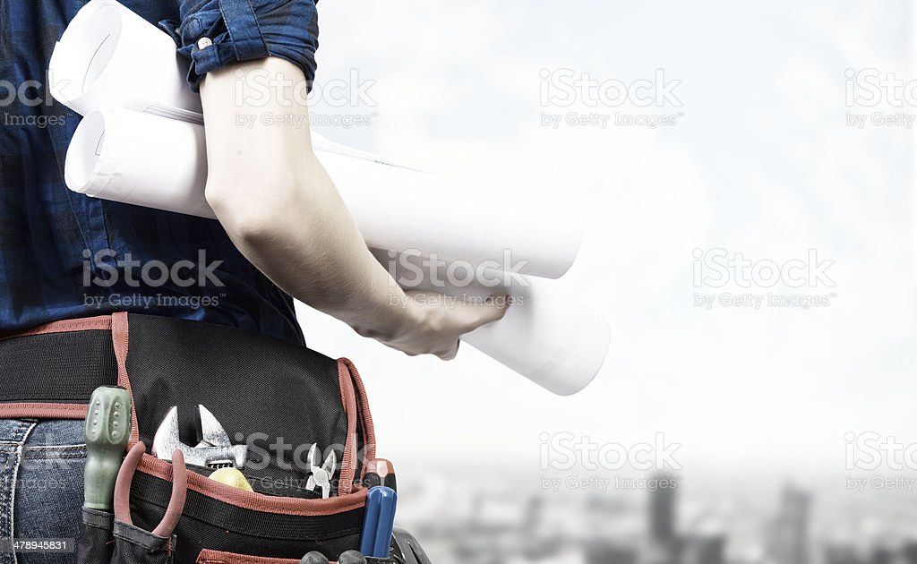 Construction concept royalty-free stock photo