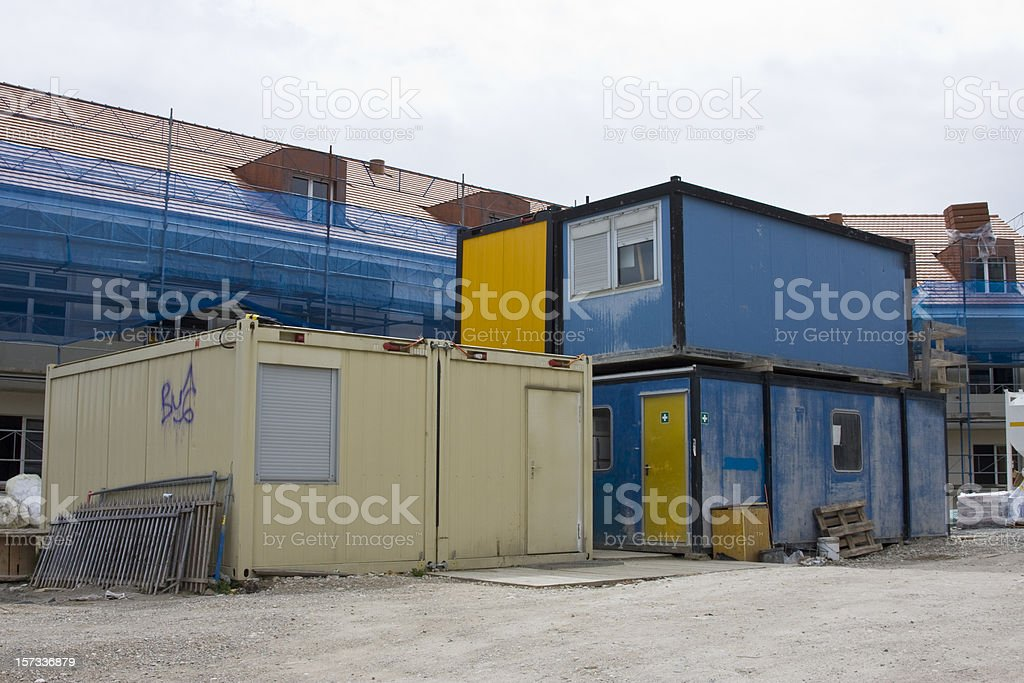 Construction Container royalty-free stock photo