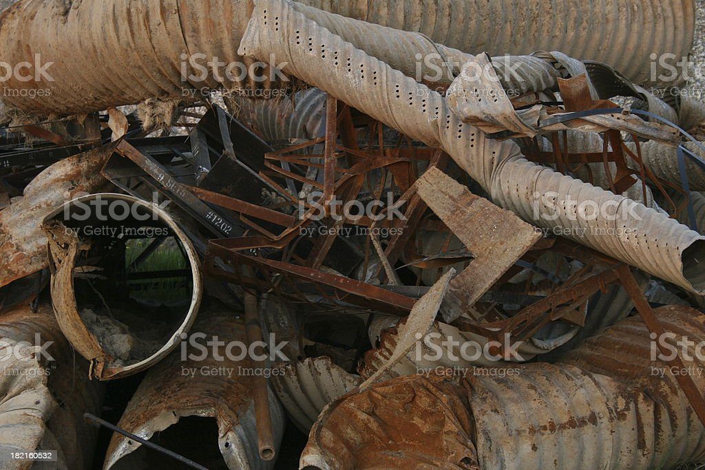 Construction Debris royalty-free stock photo