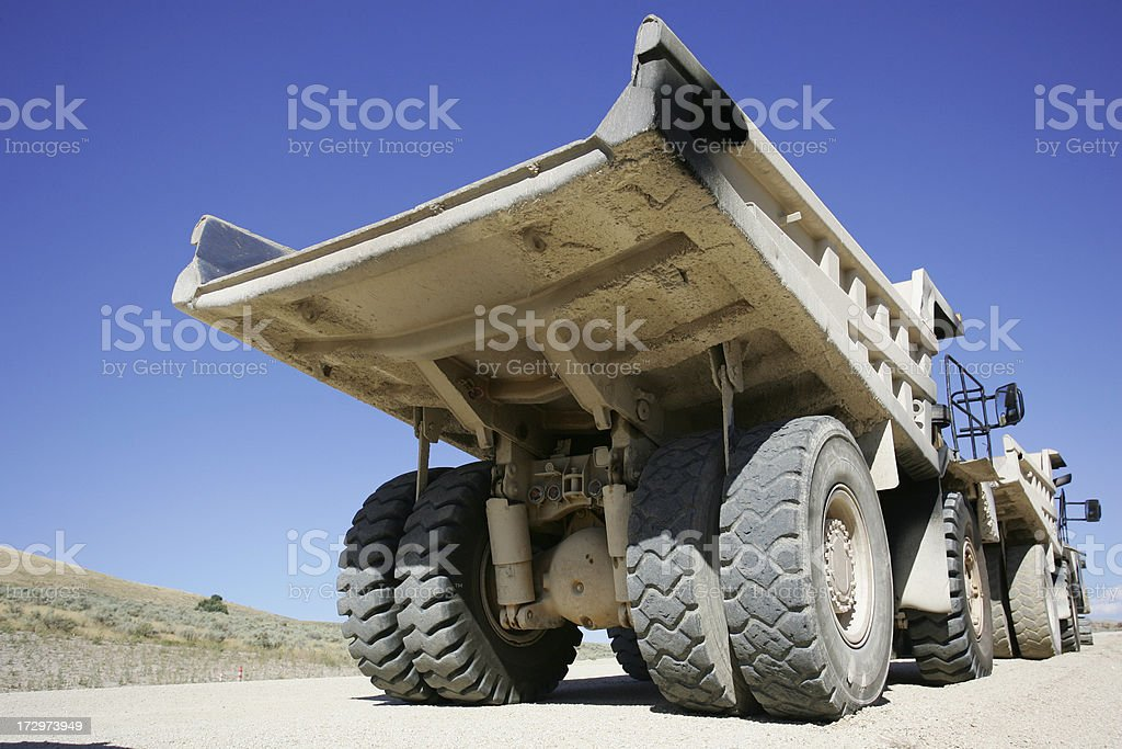 Construction Dump Truck royalty-free stock photo