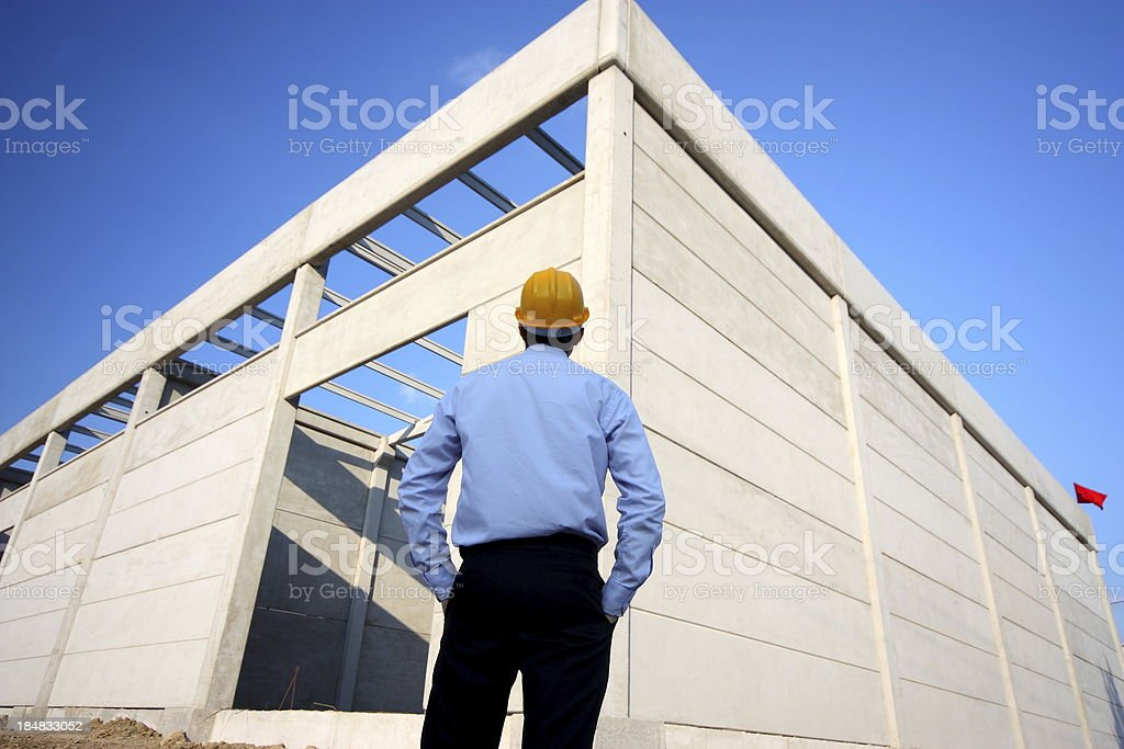 Construction Engineering royalty-free stock photo