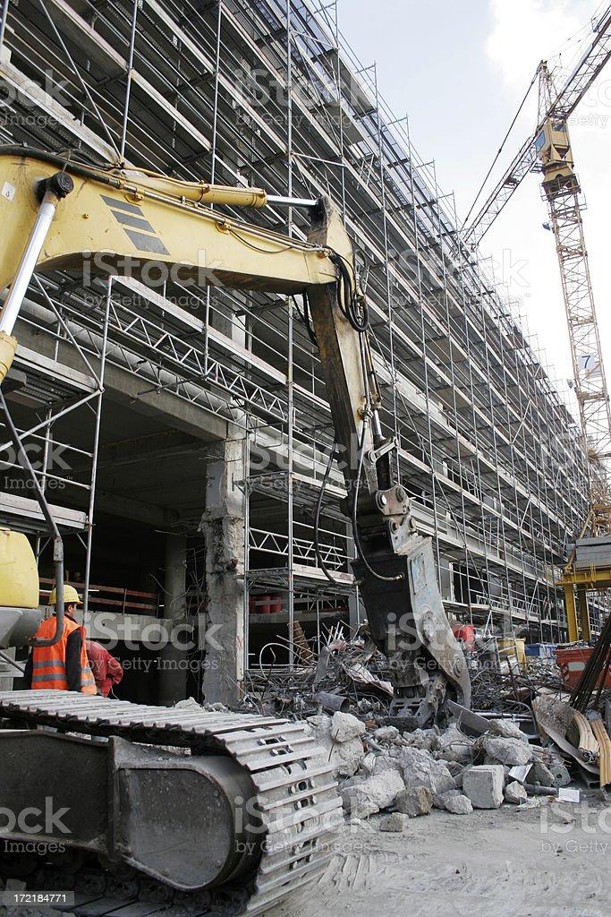 Construction Equipment royalty-free stock photo