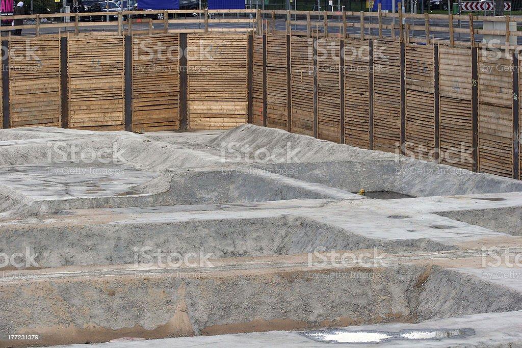 Construction Excavation stock photo
