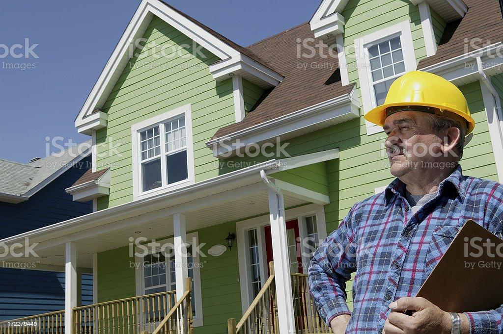 construction foreman royalty-free stock photo