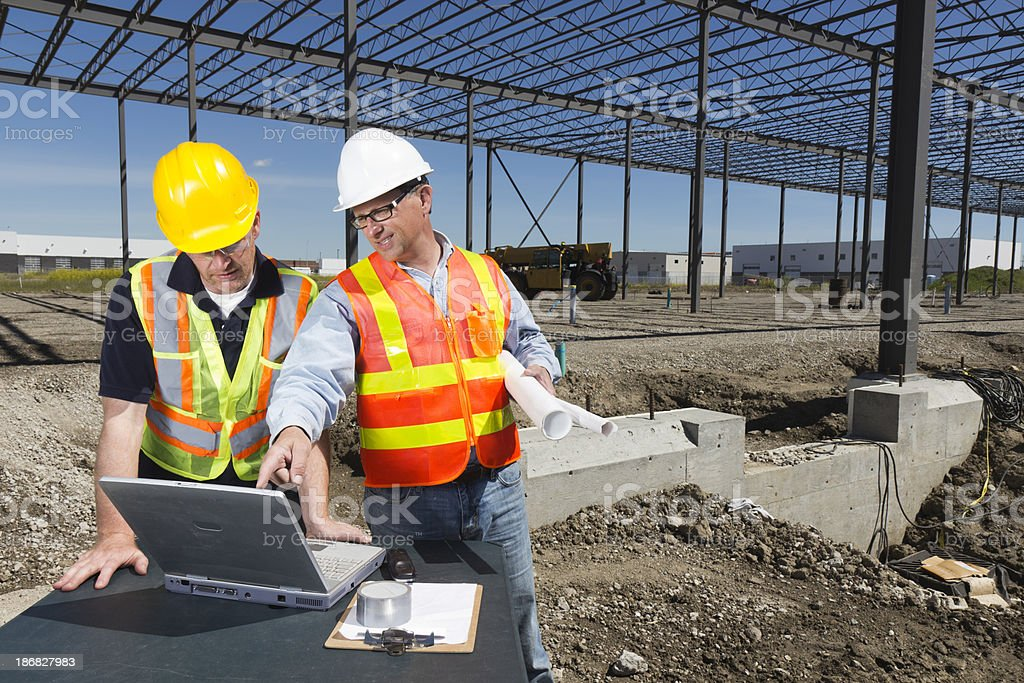 Construction Frame Conference royalty-free stock photo