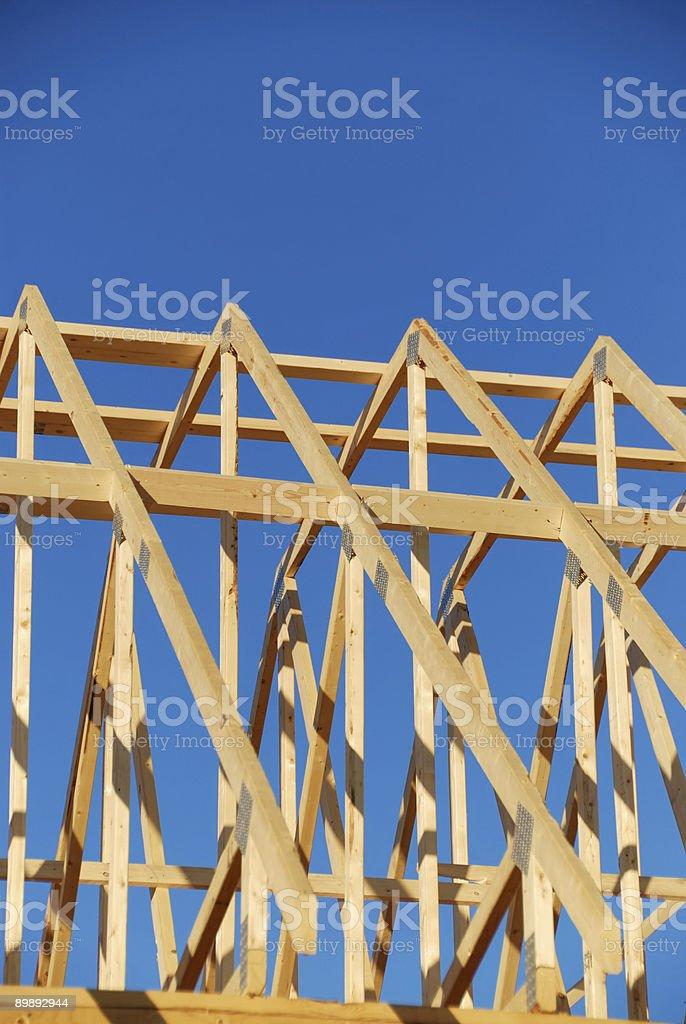 Construction Frame royalty-free stock photo