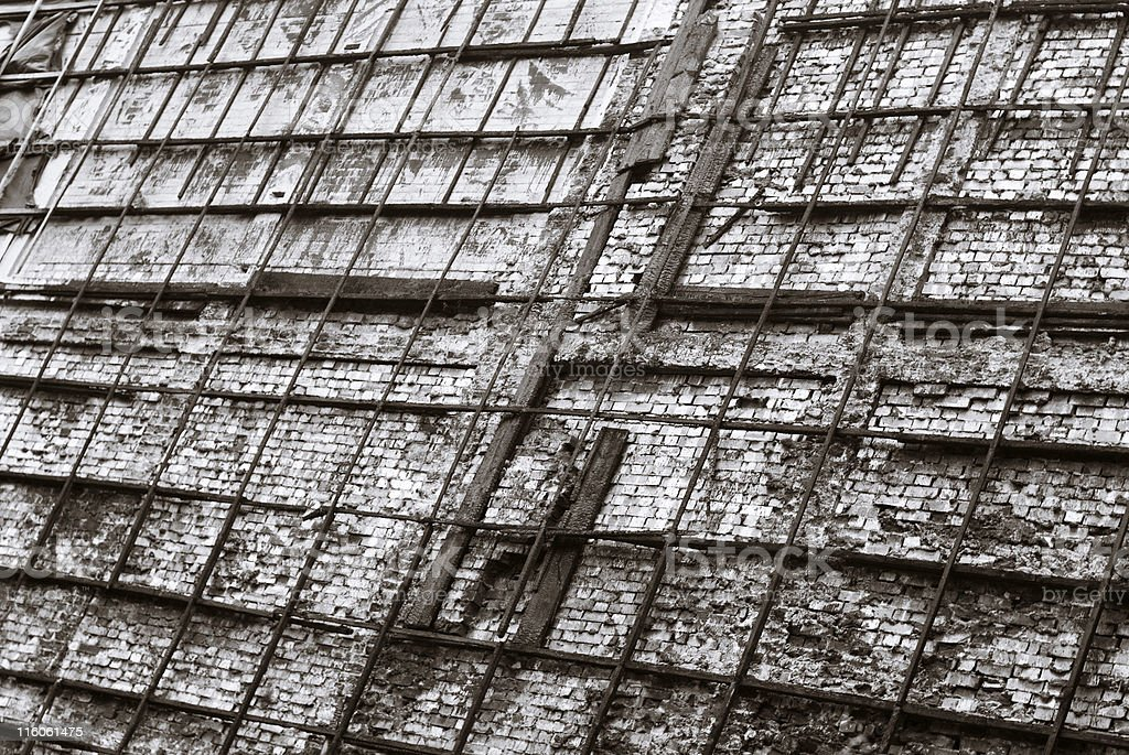 Construction frames royalty-free stock photo
