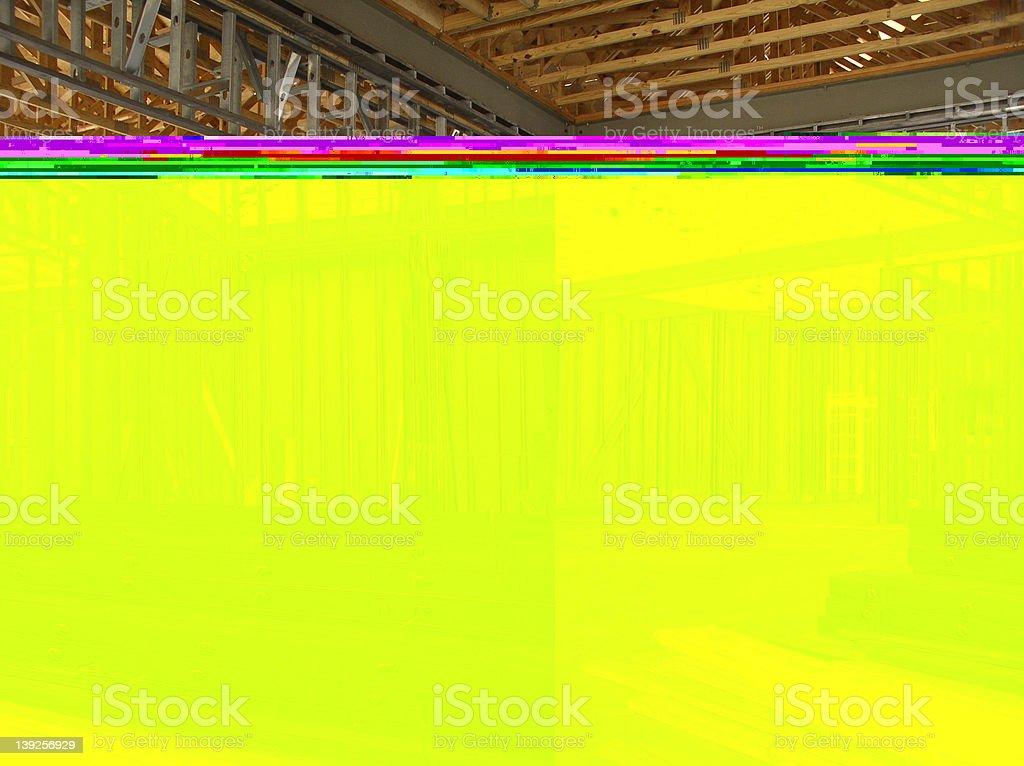 Construction Framework royalty-free stock photo