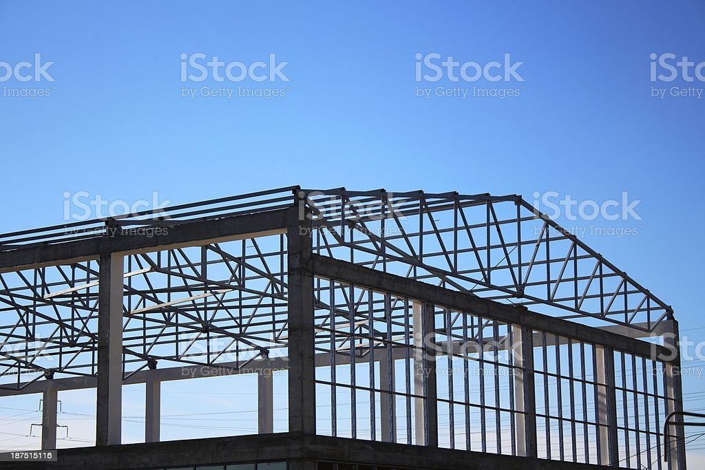 Construction framing stock photo