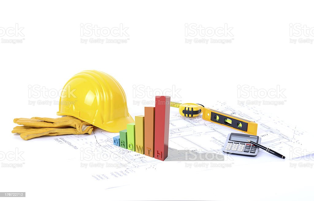 construction growth royalty-free stock photo