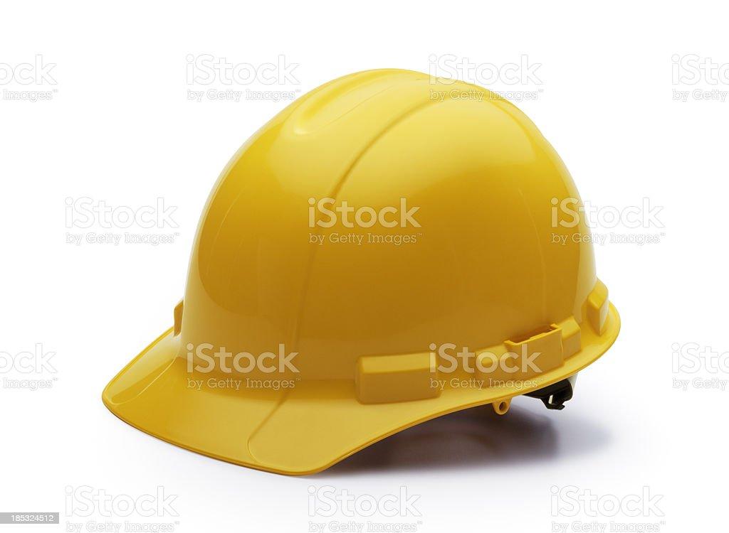 Construction Helmet on White stock photo
