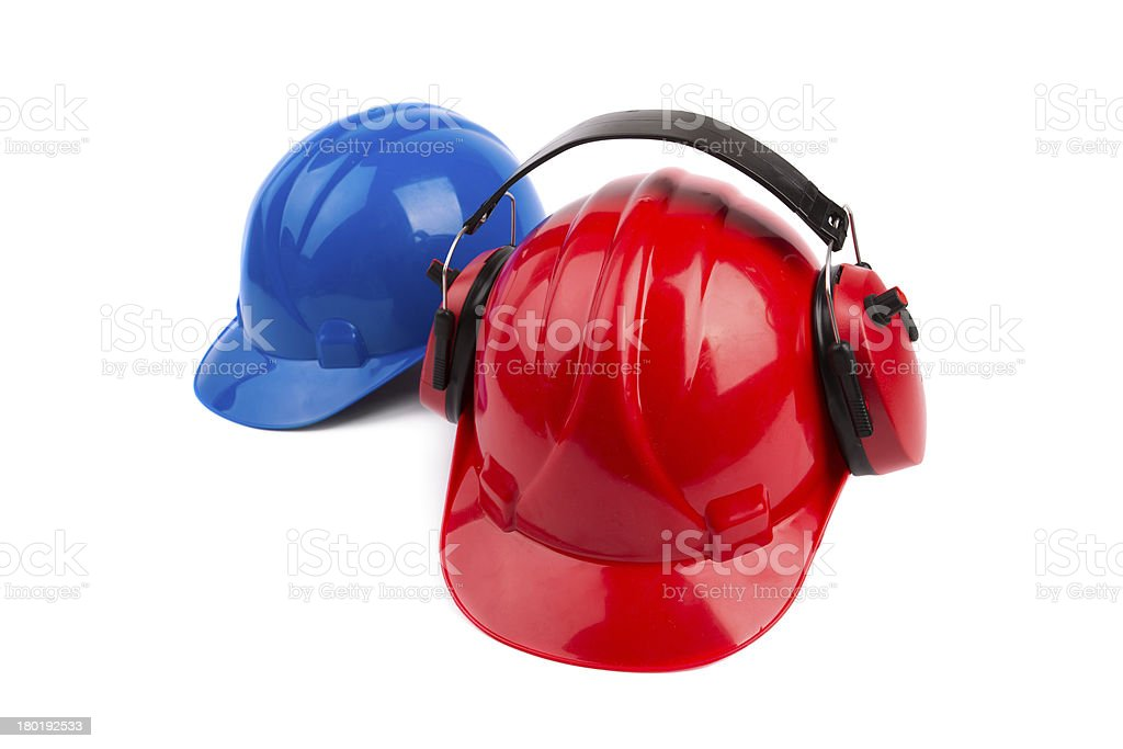 Construction helmet royalty-free stock photo