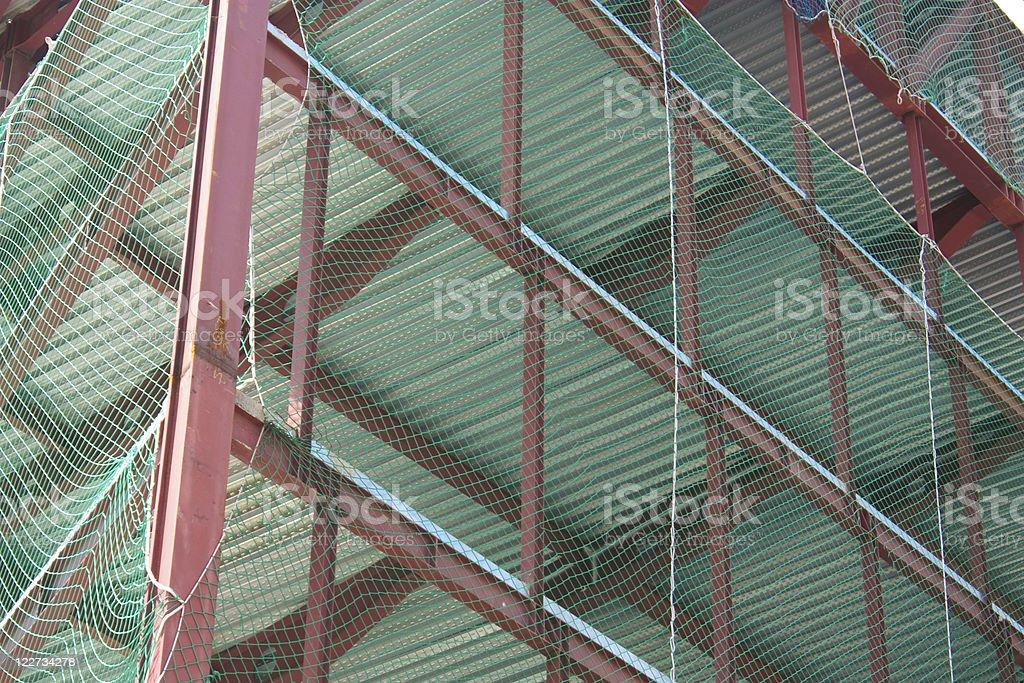 Construction industry. Barcelona, Catalonia, Spain royalty-free stock photo