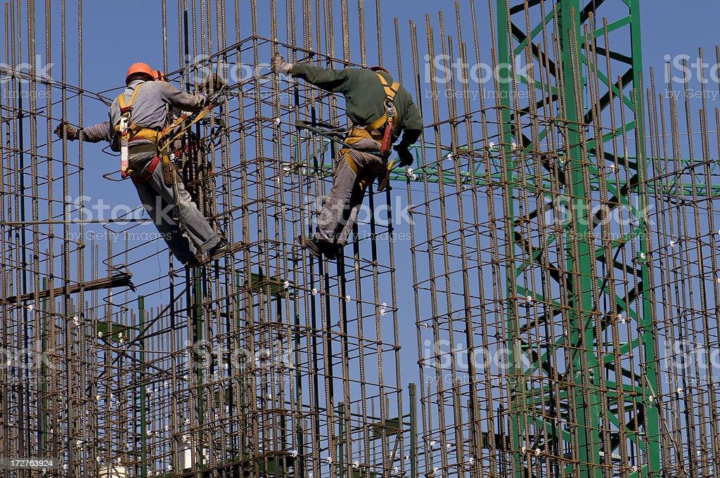 Construction industry stock photo