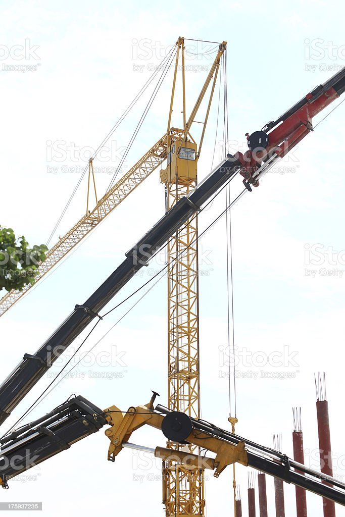 Construction industry royalty-free stock photo