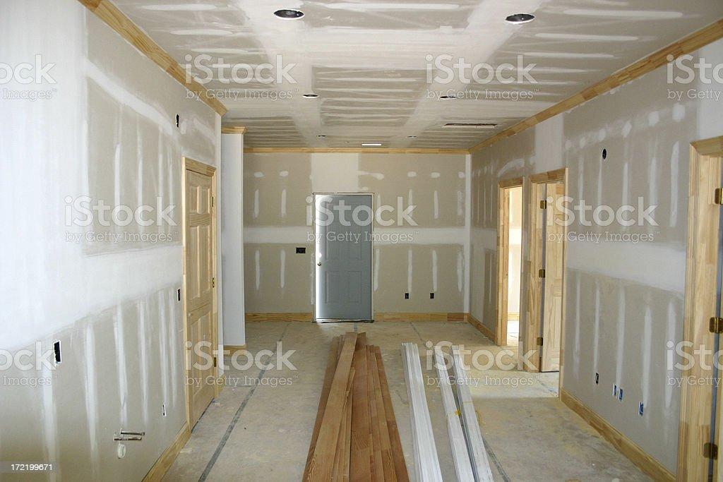 Construction Inside royalty-free stock photo