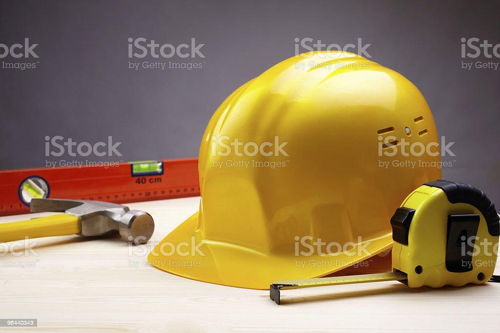 construction items royalty-free stock photo