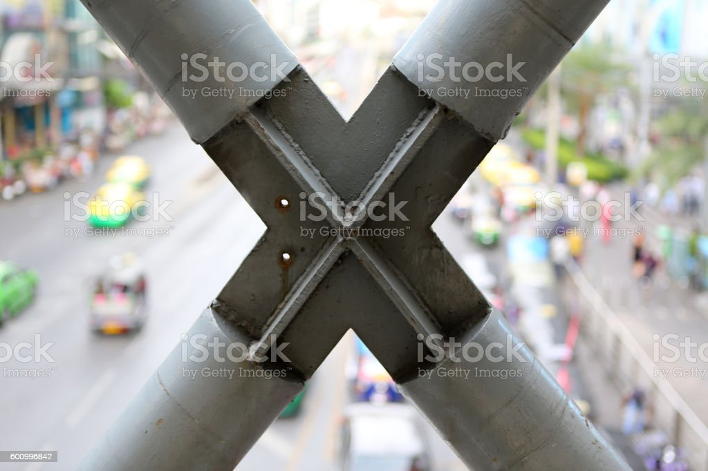 Construction joints stock photo
